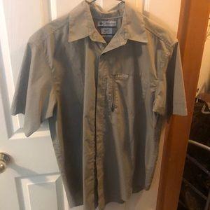 Columbia button shirt